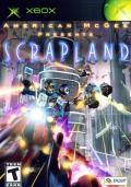 American McGee presents SCRAPLAND Xbox Front Cover