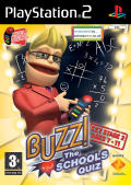 Buzz!: The Schools Quiz PlayStation 2 Front Cover