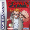 Comix Zone Game Boy Advance Front Cover