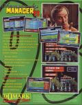 Championship Manager 93 DOS Back Cover