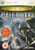 Call of Duty 2: Game of the Year Edition Xbox 360 Front Cover