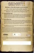 Call of Duty 2: Game of the Year Edition Xbox 360 Other Marketplace Token Card - Back
