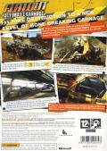 FlatOut: Ultimate Carnage Xbox 360 Back Cover