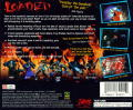 Loaded PlayStation Back Cover