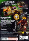 Twisted Metal: Head-On (Extra Twisted Edition) PlayStation 2 Back Cover