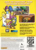 The Simpsons Game Xbox 360 Back Cover