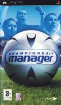 Championship Manager PSP Front Cover