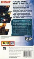 Coded Arms PSP Back Cover