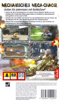 BattleZone PSP Back Cover