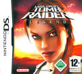 Lara Croft Tomb Raider: Legend Nintendo DS Front Cover