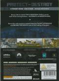 Transformers: The Game (Cybertron Edition) Xbox 360 Back Cover