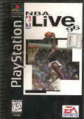 NBA Live 96 PlayStation Front Cover