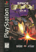 Space Griffon VF-9 PlayStation Front Cover