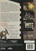 Space Griffon VF-9 PlayStation Back Cover
