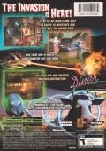 Destroy All Humans! Xbox Back Cover