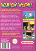 Wario's Woods NES Back Cover
