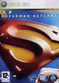 Superman Returns Xbox 360 Front Cover