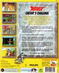 Asterix: Caesar's Challenge DOS Back Cover