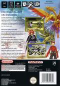 Tales of Symphonia GameCube Back Cover