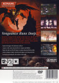 Castlevania: Curse of Darkness PlayStation 2 Back Cover