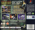 Legacy of Kain: Soul Reaver PlayStation Back Cover