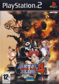 Metal Slug 4 PlayStation 2 Front Cover