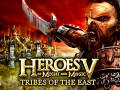 Heroes of Might and Magic V: Tribes of the East Windows Front Cover