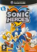 Sonic Heroes GameCube Front Cover
