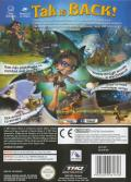 Tak 2: The Staff of Dreams GameCube Back Cover