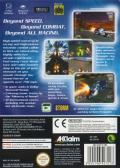 XGIII: Extreme G Racing GameCube Back Cover