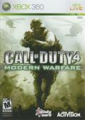 Call of Duty 4: Modern Warfare Xbox 360 Front Cover