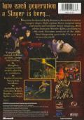 Buffy the Vampire Slayer Xbox Back Cover