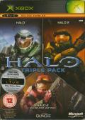 Halo Triple Pack Xbox Front Cover