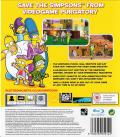The Simpsons Game PlayStation 3 Back Cover
