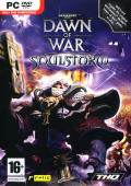 Warhammer 40,000: Dawn of War - Soulstorm Windows Front Cover