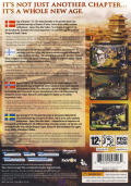 Age of Empires III: The Asian Dynasties Windows Back Cover