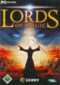Lords of Magic Windows Front Cover