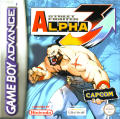 Street Fighter Alpha 3 Game Boy Advance Front Cover