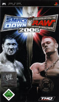 WWE Smackdown vs. Raw 2006 PSP Front Cover