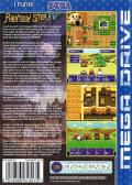 Phantasy Star IV Genesis Back Cover