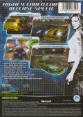 Need for Speed: Underground Xbox Back Cover