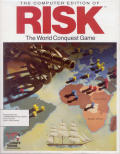 The Computer Edition of Risk: The World Conquest Game Commodore 64 Front Cover
