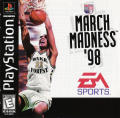 March Madness '98 PlayStation Front Cover