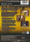 Harry Potter and the Chamber of Secrets Xbox Back Cover