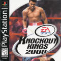 Knockout Kings 2000 PlayStation Front Cover