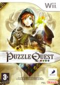 Puzzle Quest: Challenge of the Warlords Wii Front Cover