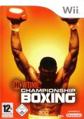 Showtime Championship Boxing Wii Front Cover