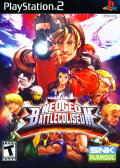 NeoGeo Battle Coliseum PlayStation 2 Front Cover