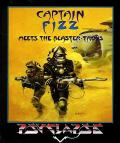Captain Fizz Meets the Blaster-Trons Amiga Front Cover