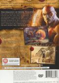 God of War PlayStation 2 Back Cover